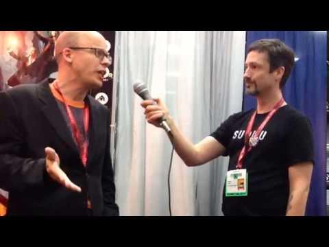SDCC 2014 Lev Grossman Interview