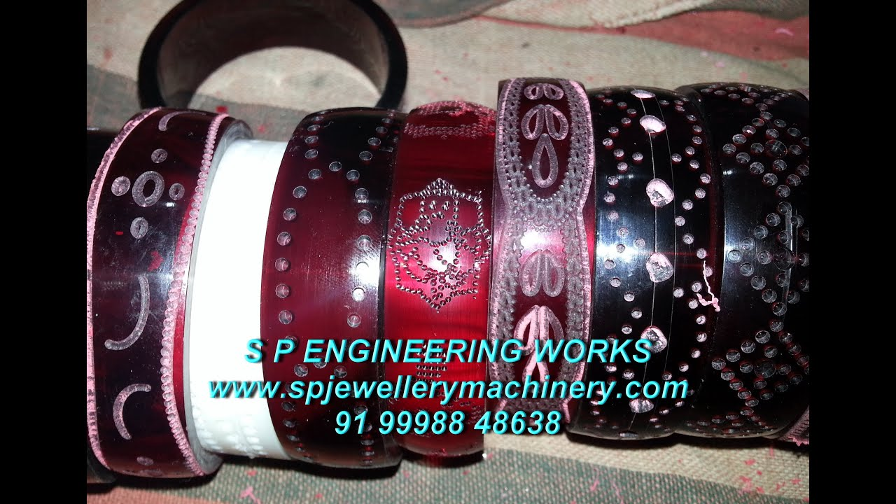 their bangles specially developed drilling the engraving indian bangle need manufacturers machine technology suite on to and acrylic is vasudev design according cnc for