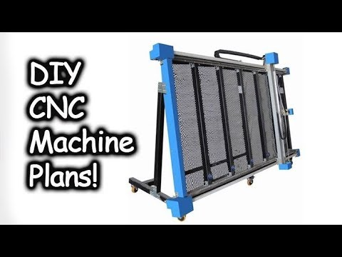 DIY CNC Machine Build #1 |Planning All-In-One 3d Printer, Laser Cutter, Sewer, Embroiderer,& Painter