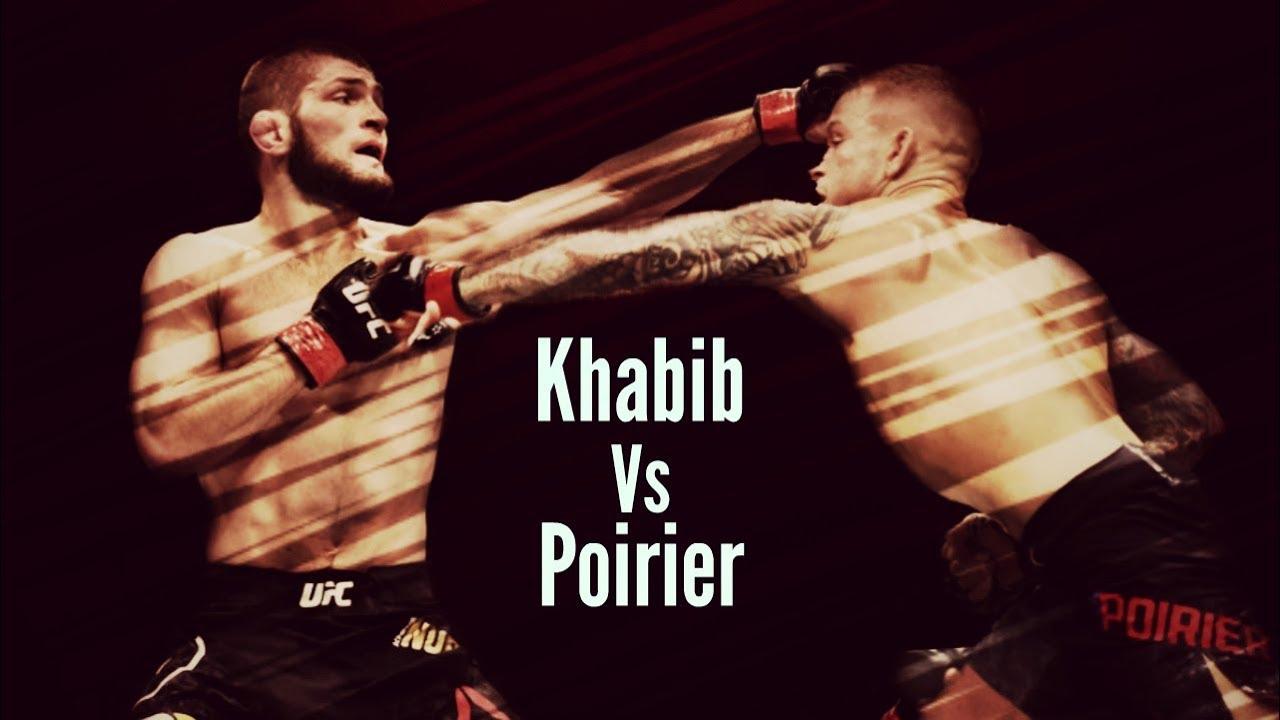 Kết quả hình ảnh cho Khabib vs Poirier