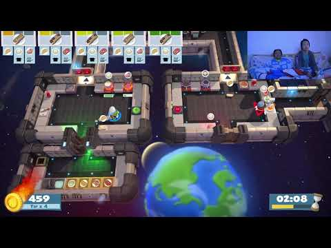 Overcooked! All You Can Eat 5-1 (Couples Gameplay) 3 Stars |