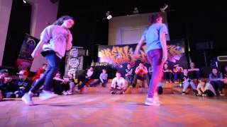 Ćwierćfinał Bgirl Battle 1vs1 do 15 lat / Aneta vs Pikachu