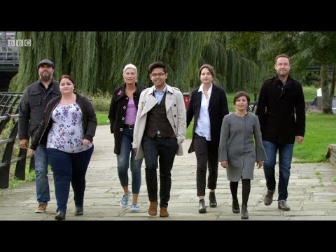 MasterChef UK, Series 14, Episode 7. BBC. 12 Mar 2018. John Torode and Gregg Wallace