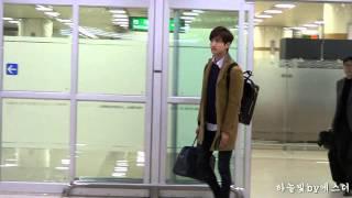 150309 동방신기 TVXQ 최강창민 Changmin 김포공항입국