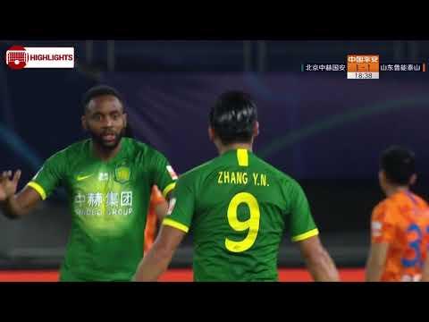 Zhang Yuning Goal 19' - Beijing Guoan [1] - 1 Shandong Luneng (AGG [3] - 3)