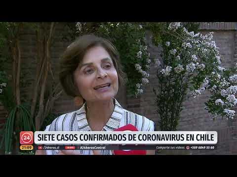 Minsal ha confirmado siete casos de covid-19 en Chile