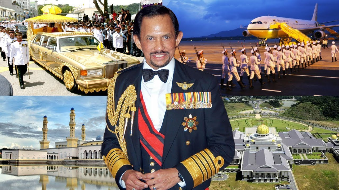 Brunei King- The RICH Life- Net Worth 2018 - YouTube