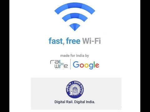 """How to connect RailWire Free WiFi on Railway Station Google """"TELLING TUBER"""""""