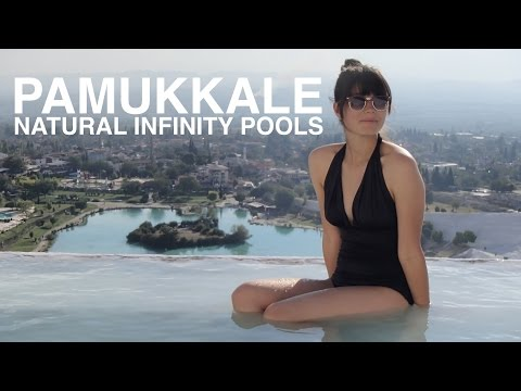 Pamukkale Natural Infinity Pools   Turkey
