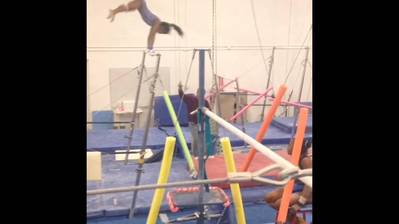 Winwin gymnastics - Erin Gaston Level 8 Bar Routine Win Win Gymnastics