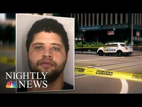 Four Killed, Including Gunman, In Shooting In Downtown Cincinnati | NBC Nightly News