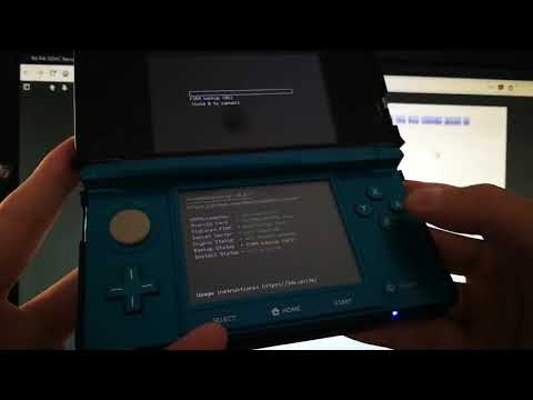 Install B9S CFW with R4i B9S card to Old 3DS Ver 11.7.0-40E(1)