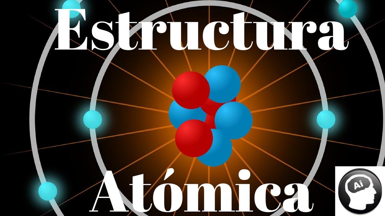 Estructura Atómica átomo Electrón Protón Neutrón Número Atómico De Masa Ion