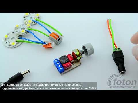 Драйвер светодиода LD 5 12х1W12V9 12х1W24V With DMR