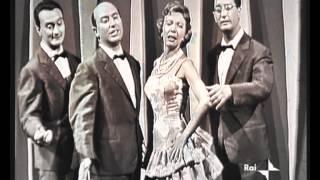 Quartetto Cetra - Triana Morena - Canzone degli ascensori (Buone Vacanze 1959)