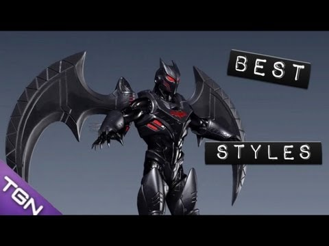 The Best Complete Styles of DC Universe Online