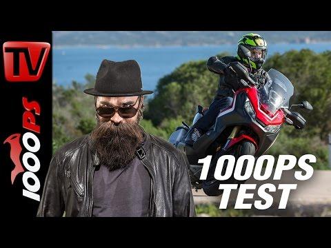 1000PS Test - Honda X-ADV 2017 | Was taugt das neue Konzept von Honda?