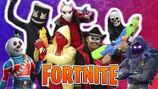 Fortnite in real life / MARSHMELLO vs MASKARIN / Manito and Maskarin