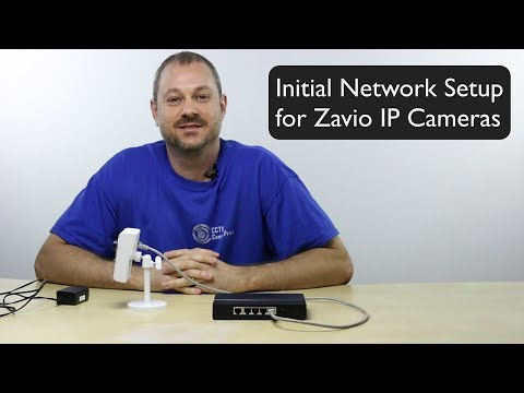 Zavio IP Camera Network Setup on Mac and Windows