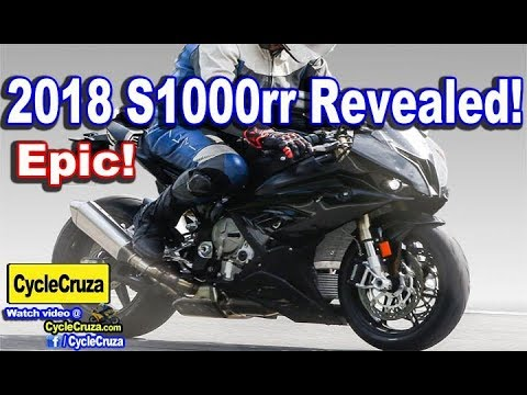 All New 2018 Bmw S1000rr Revealed Not Ugly Anymore Youtube