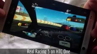 Real Racing 3: HTC One vs iPhone 4s