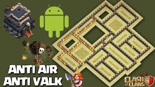 Town Hall 9/8.75 (TH9 Tested in 5 Wars) BEST WAR BASE AnTi 3 Star [AnTi AIr/Valk ] | Clash Of Clans