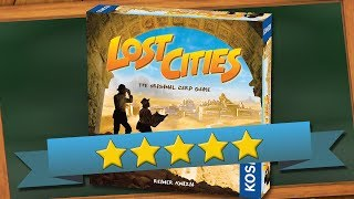 Lost Cities Game Review