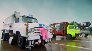 Supersize Burmese Drag Race - Top Gear - Series 21 - BBC