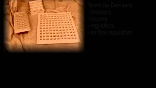 Terms for floor grates, return air grilles and dampers -- returnairgrilles.com