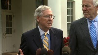 McConnell: Health care meeting with Trump helpful