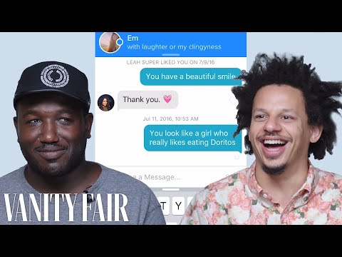 Eric André and Hannibal Buress Hijack Each Other's Tinder Accounts | Vanity Fair