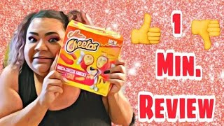 1 Min. Review: Hot Cheetos Mac Cheese Sticks