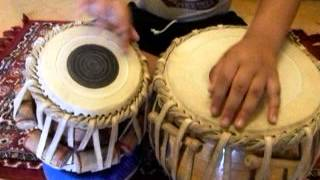 Aarjav-Demonstrating Teen Taal (16 beats)
