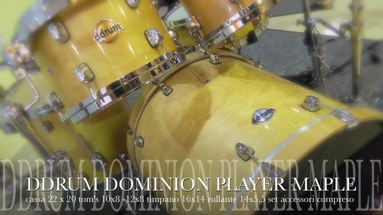 ed9e43289049 DDRUM DOMINION MAPLE - YouTube