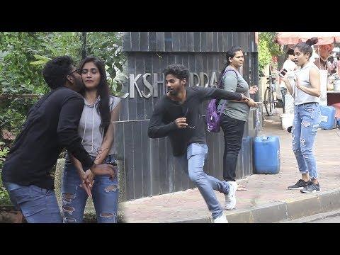 Kiss And Run Prank – Part 2 | Funk You (Pranks In India)