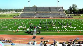 Coral Shores High School Band 2011 FBA/MPA Compition