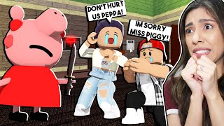 We Made PEPPA PIG Angry! *THIS WAS A BAD IDEA!* - Roblox Piggy (Chapter 3)