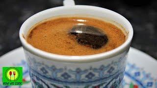 Турецкий кофе Türk kahvesi Turkish coffee Короткий видео рецепт How we cook