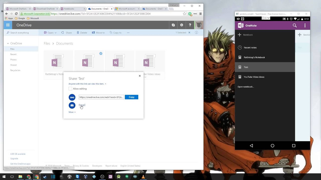 how to create onenote notebook offline