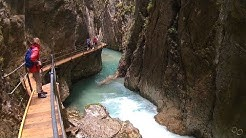 Leutascher Geisterklamm, Wasserfallsteig, Koboldpfad, Action-Cam, Mittenwald, Scharnitz, Tirol