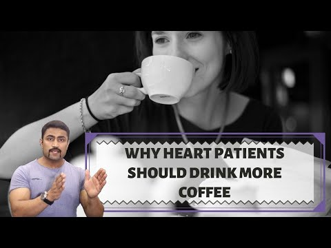 COFFEE IS HEALTHY FOR HEART PATIENTS