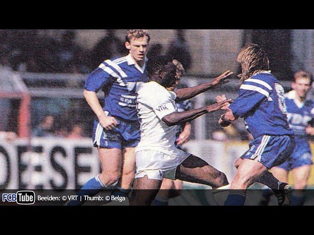1992-1993 - Jupiler Pro League - 34. Club Brugge - AA Gent 2-0