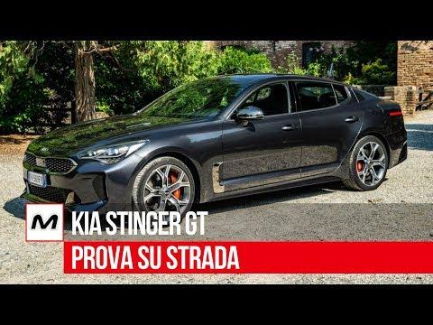 Kia Stinger GT | Prova su strada del V6 biturbo benzina 3.300 da 366 Cv