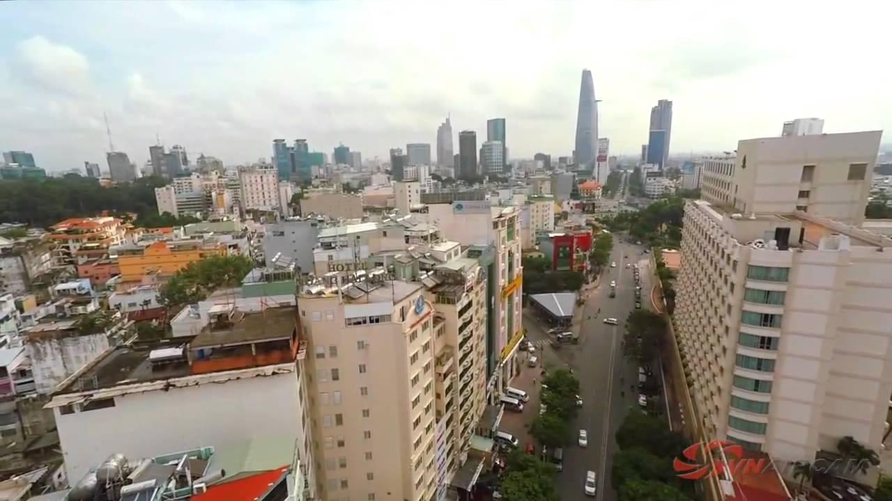 Saigonres Plaza Quận Bình Thạnh flycam 2014