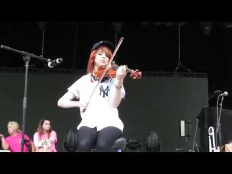 Lindsey Stirling - QA and Sound check. New York, 17 June 2015