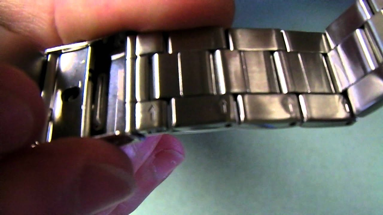 how to adjust a watch band without tools