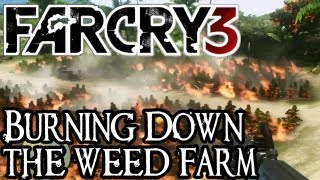 Far Cry 3 - Burn All the Weed! - Kick the Hornets Nest Mission