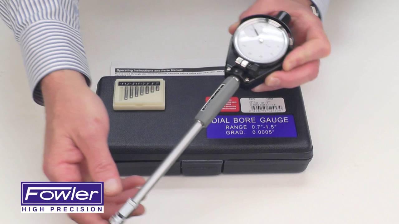 """Fowler Depth Gage /& Euro-Cal IV Kit-Range 0~6/"""" 0~150mm"""