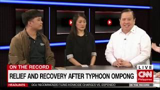 On the Record: Relief & recovery after Typhoon Ompong