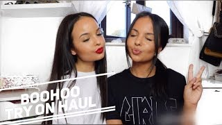 HUGE BOOHOO TRY ON HAUL (UNDER £15) - AYSE AND ZELIHA